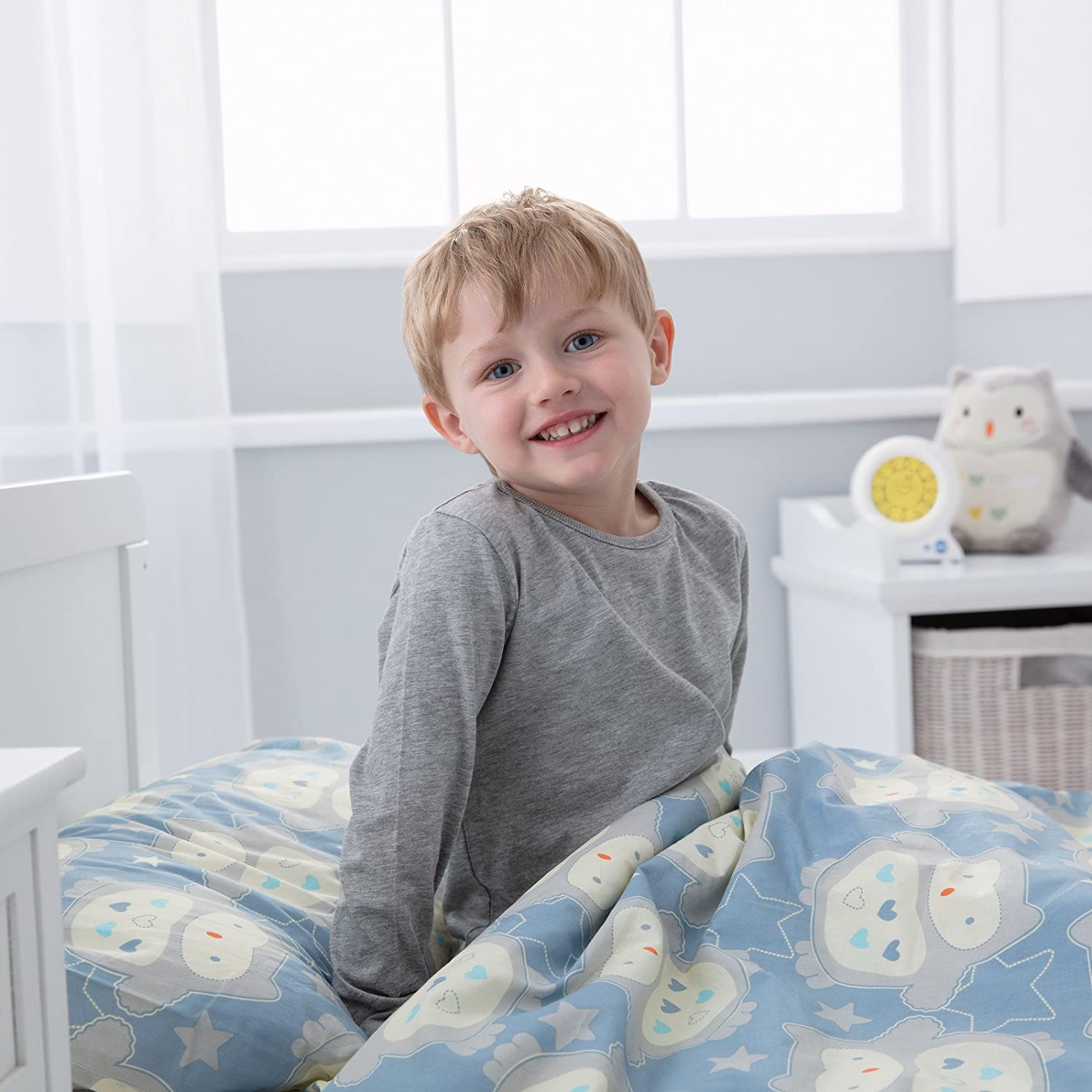 The Gro Company Swan Lake Gro to Bed Toddler Bedding Set Single Bed