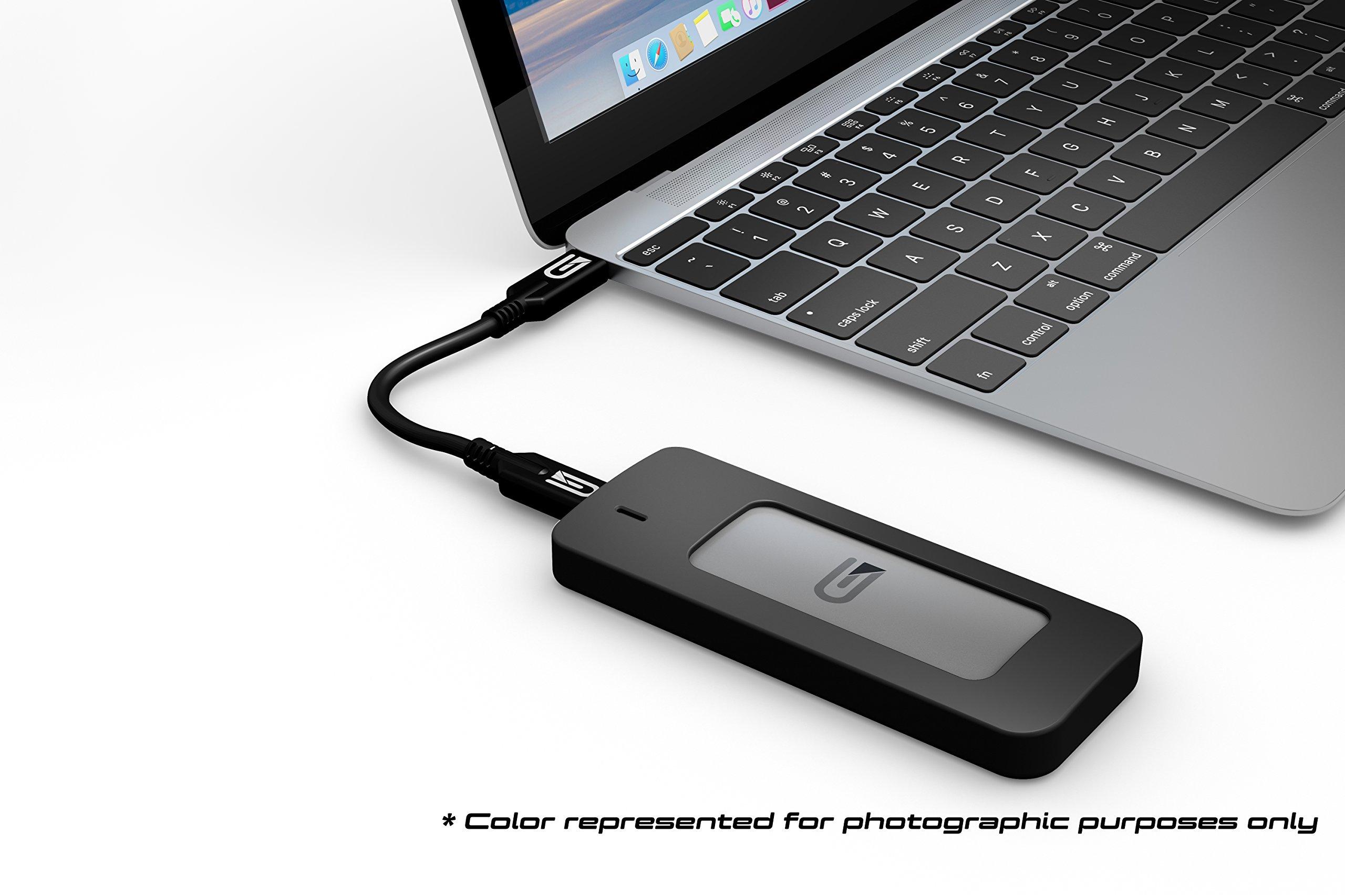 Glyph Atom SSD 2TB Black (External USB-C, USB 3.0, Thunderbolt 3) A2000BLK by Glyph Production Technologies (Image #5)