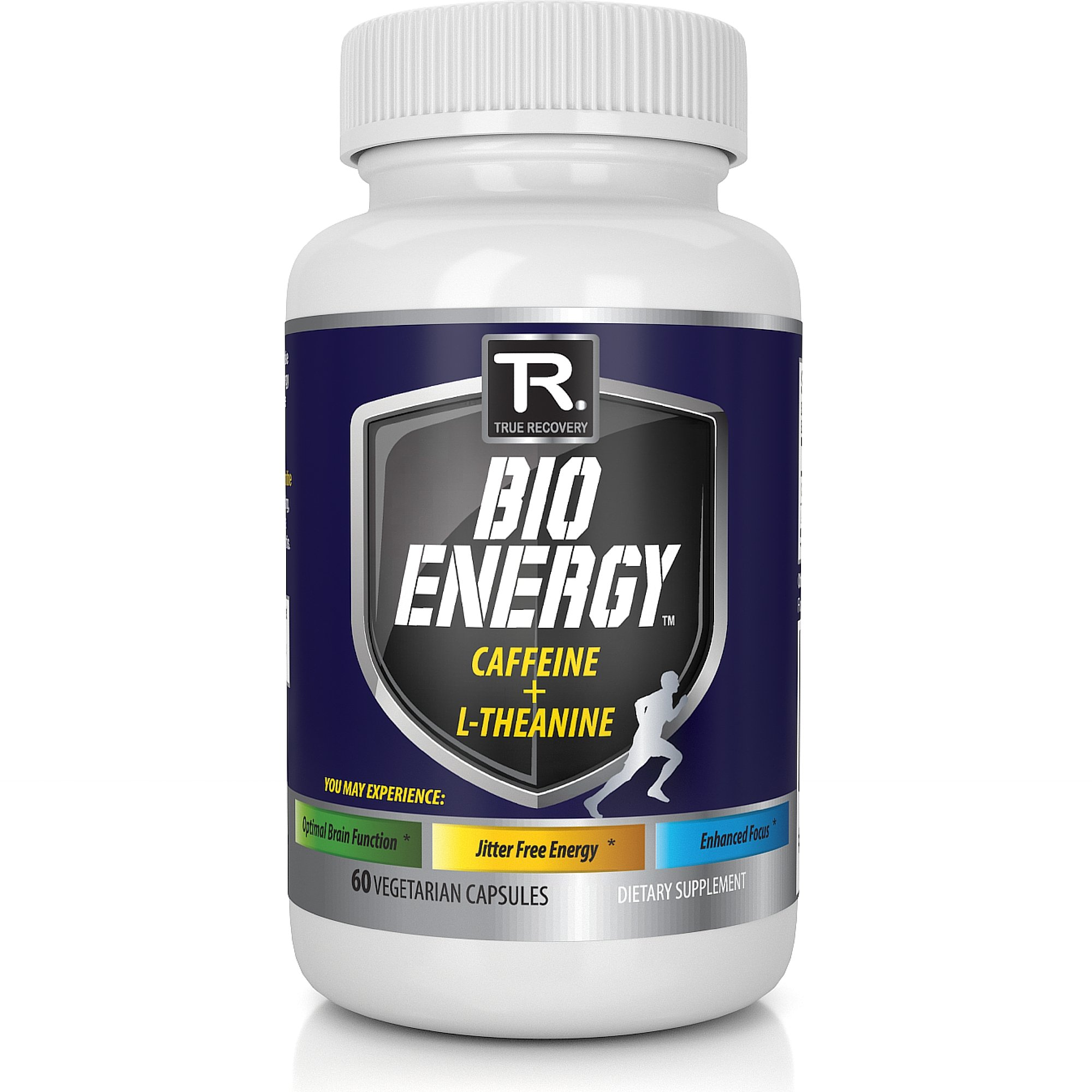 Nootropic Energy Pills and Focus Supplement; Caffeine and L-Theanine - TR Supplements