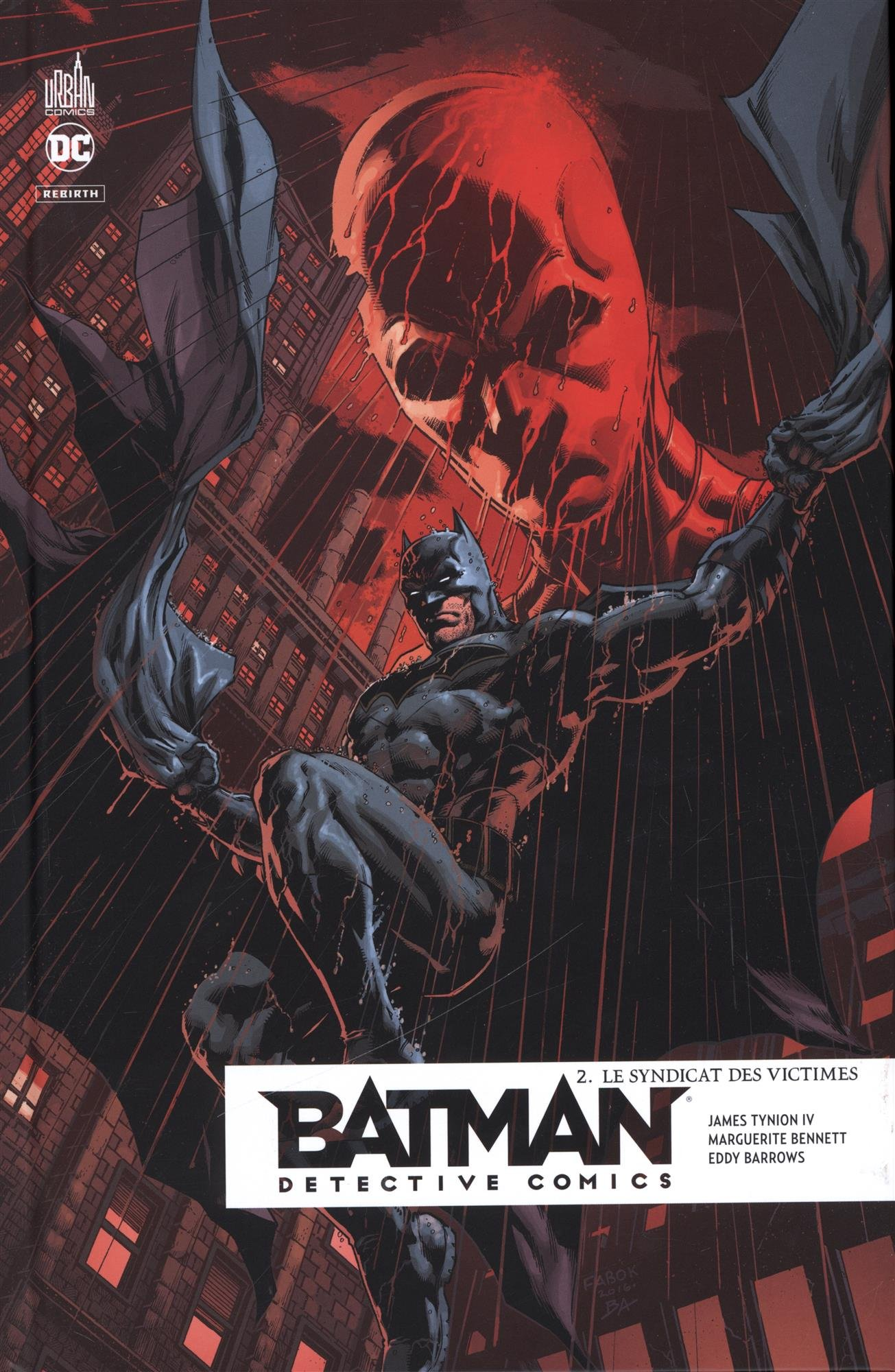 detective comics batman rebirth