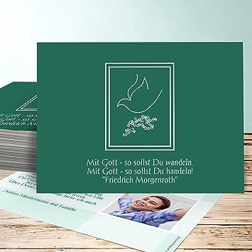Einladungskarten Zur Konfirmation Basteln Andacht 15 Karten