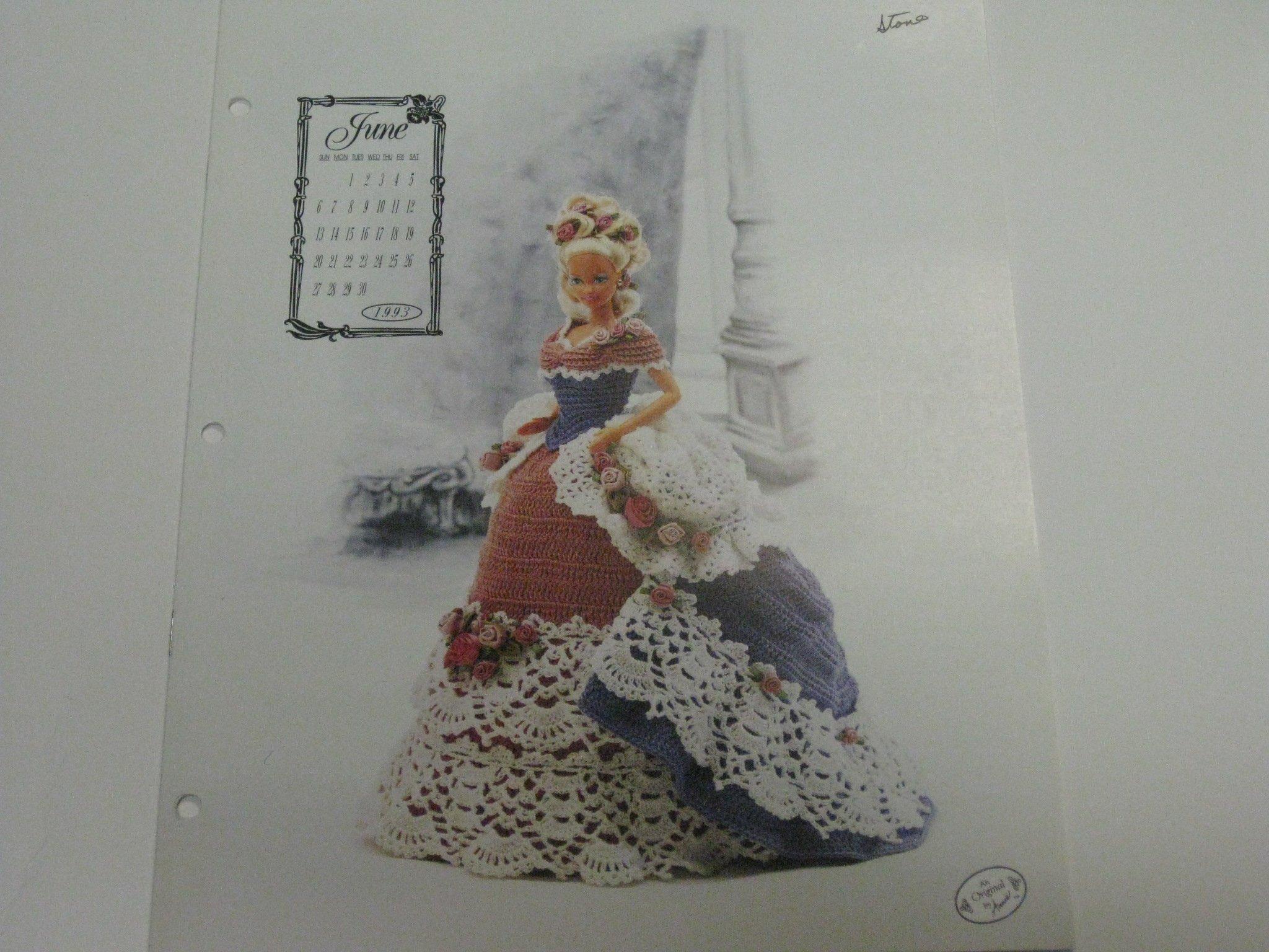 Miss June 1993 Annie S Calendar Bed Doll Annie Potter Amazon Com