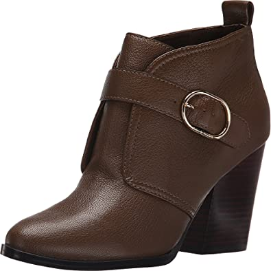 Cole Haan Women's Lily Bootie Bison Leather Boot 10.5 B ...