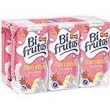 Bifrutas Bebida Refrescante con Leche y Zumo de Frutas - pack de 6 x 200 ml