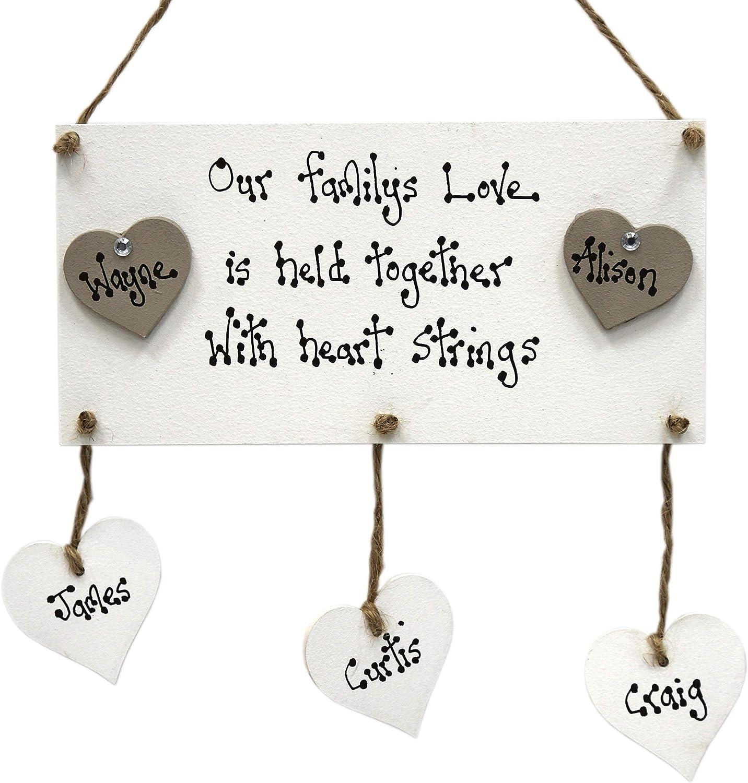 /'LOVE/' Plaque Large Wooden