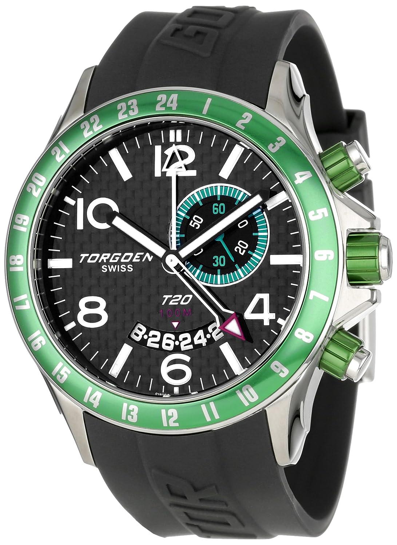 Torgoen Swiss Herren-Armbanduhr T20302 Analog Plastik Schwarz T20302