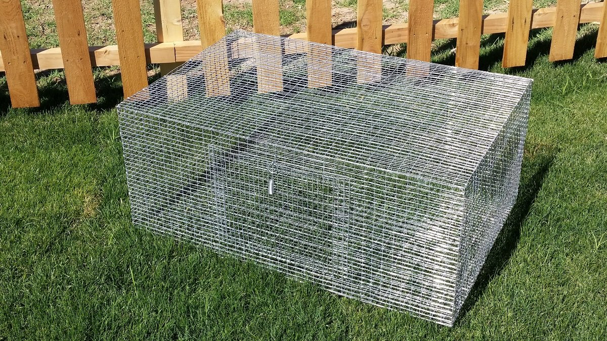Hostile Hare 3 pack RABBIT CAGE 36x24x15 MEAT/PET BUNNY INDOOR OUTDOOR WIRE CAGES by Hostile Hare