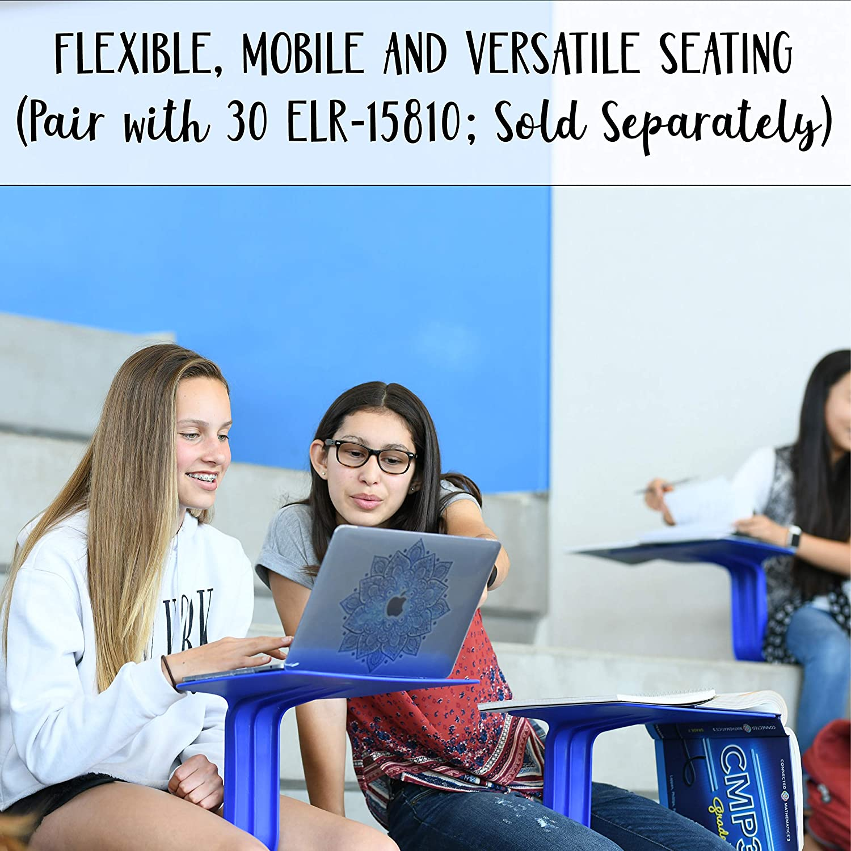 ECR4Kids The Surf Storage Rack – Stores 30 Portable Desks for a Flexible Classroom