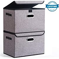 2-Pack Seckon Collapsible Storage Box