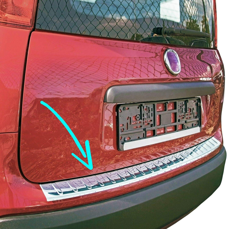 Stoßstangenschutz Hinten Für Panda 312 319 Ab 2012 Edelstahl Verchromt Kantenschutz Für Kofferraum Auto