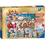 Ravensburger What If? Santa and Rudolph Christmas Jigsaw Puzzle (1000 Pieces)