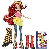 My Little Pony - Equestria Girls : Rainbow Rocks - Sunset Shimmer - Poupée 23 cm + Accessoires Mode