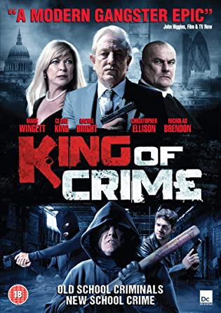 King Of Crime [DVD] [2018]