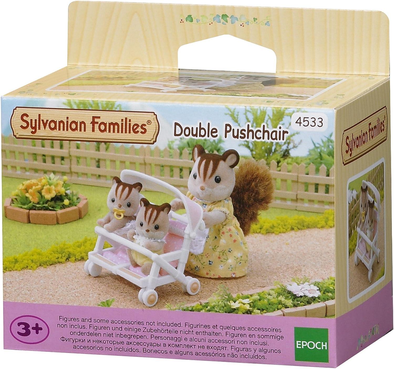 Sylvanian Families 4533 - Carrito para gemelos [importado de Alemania]