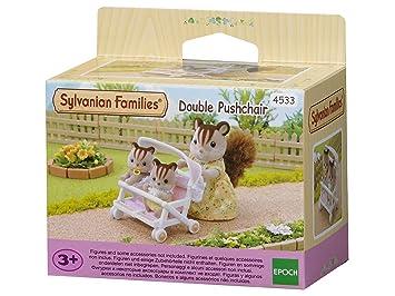 Muñecas Modelo Muñecas Y Accesorios Sylvanian Families Doble Silla De Paseo