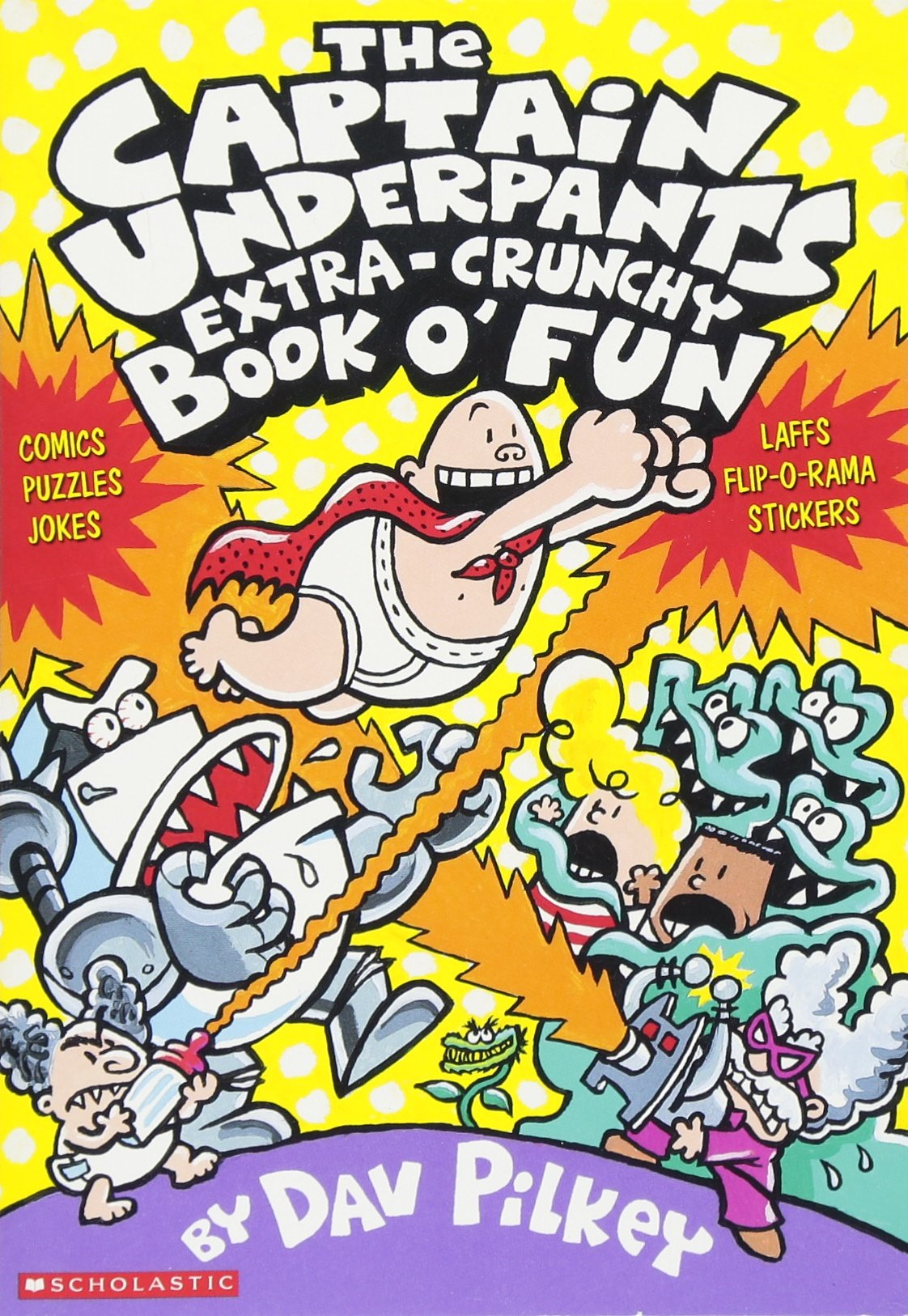 captain underpants series order
