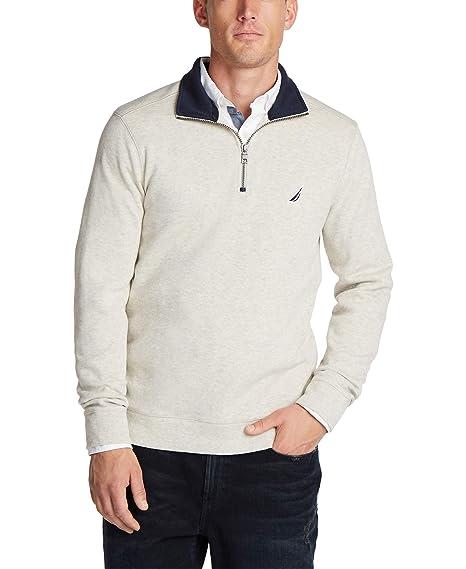 Nautica Mens Polo T-Shirt Long-Sleeved: Amazon.es: Ropa y accesorios