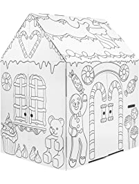 Easy Playhouse Gingerbread House