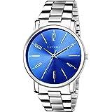 Laurels Lo-svt-0307 Analog Blue Dial Men's Watch-Lo-Svt-0307