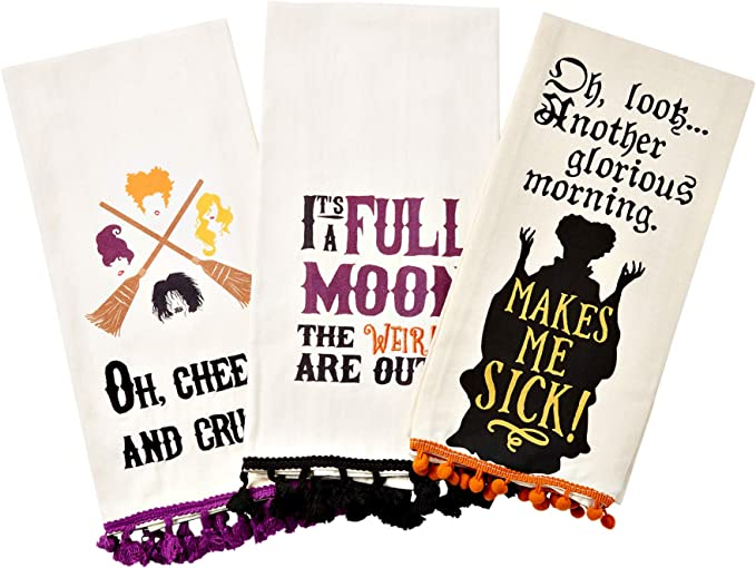 Look Another Glorious Morning Makes Me Sick Hocus Pocus Dish Towel Oh Kitchen