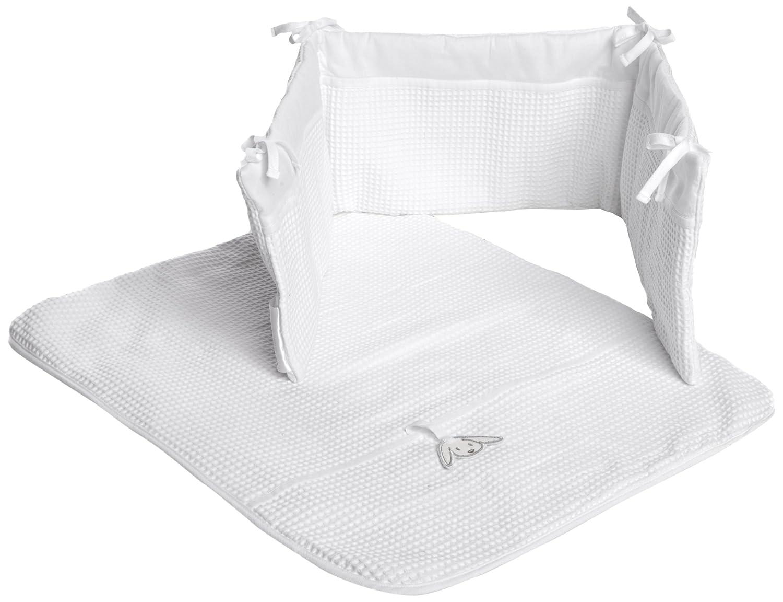 Izziwotnot Gift White 2 piece Crib Set Iziwotnot 5060093481129