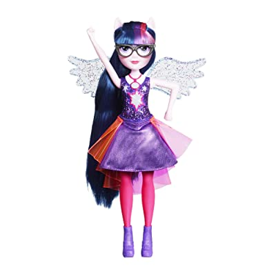 My Little Pony Equestria Girls Twilight Sparkle Fashion Dolls: Toys & Games