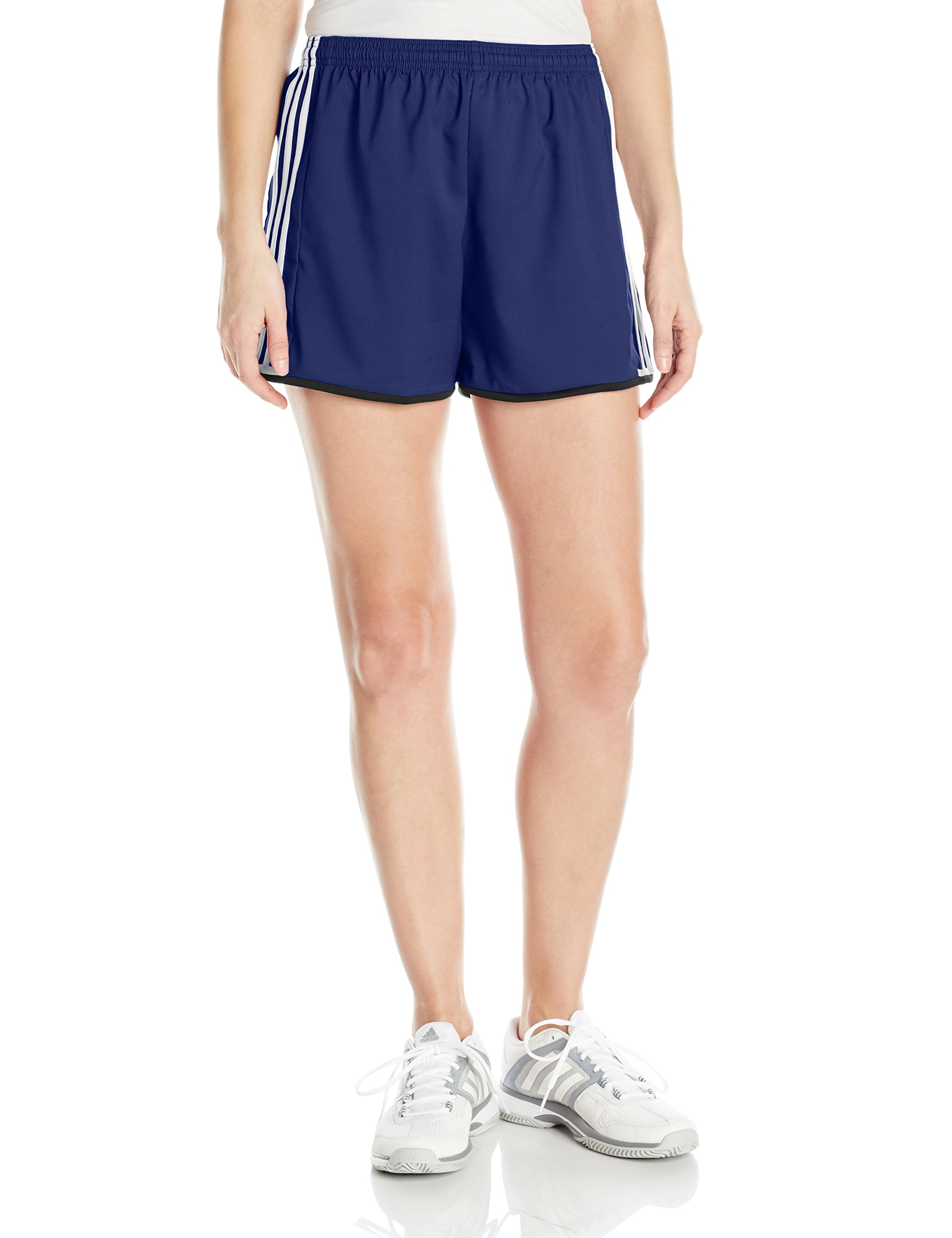 adidas Women's Soccer Condivo 16 Shorts, Dark Blue/White, Small