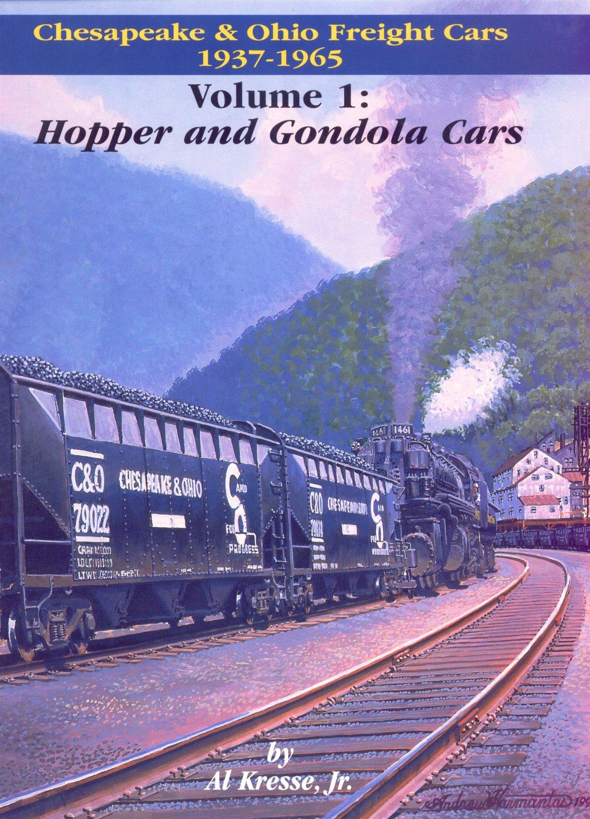 Chesapeake & Ohio freight cars, 1937-1965: Alfred L Kresse