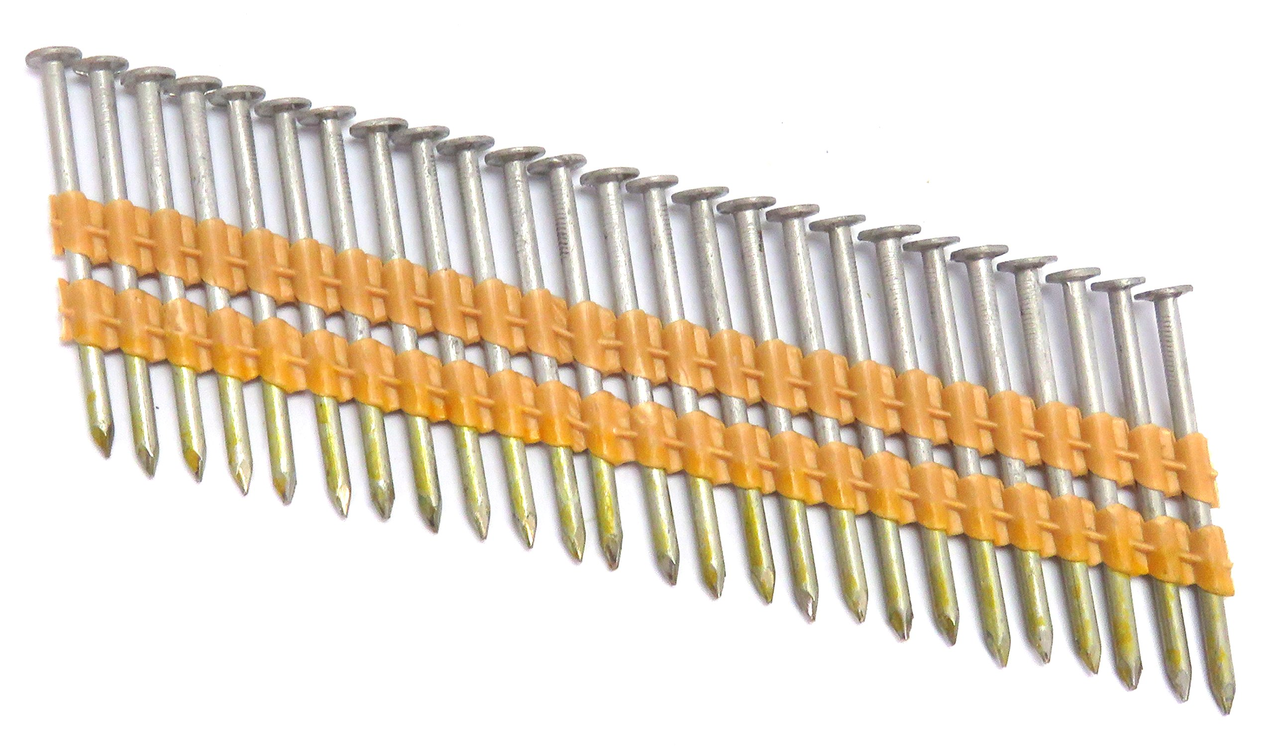TrueSpec HSB20113P Tree Island Halsteel 6D Common 2'' x .113'' Smooth Stainless Steel Framing Nails