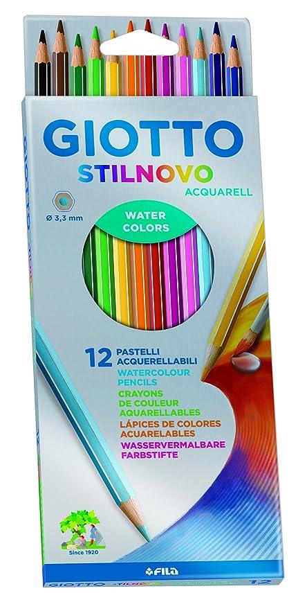 Giotto 255700 - Ast 12 Stilnovo Acqua  Amazon.it  Cancelleria e ... 7d8b905820c