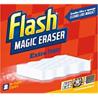 Flash Magic Eraser Extra Power Household Cleaner - (Pack of 2)