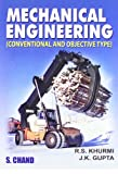 Mechanical Engineering (Conventional and Objective Type): Conventional and Objective Types