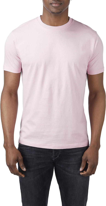 Charles Wilson Paquete de 3 Camisetas de Manga Larga Lisa con Cuello Redondo