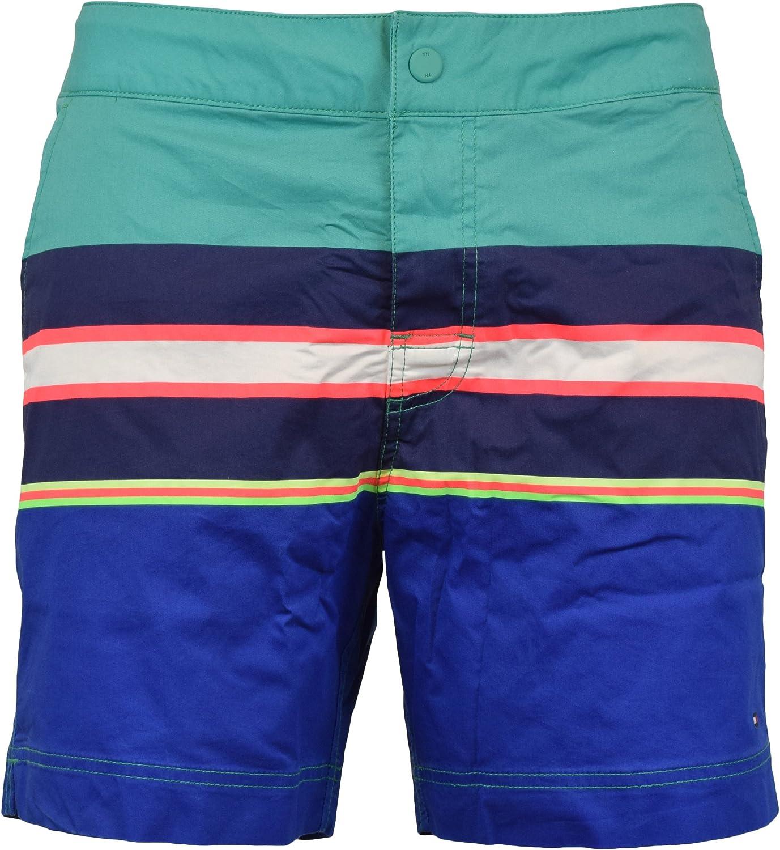 Tommy Hilfiger Mens Colorblock Swim Bottom Trunks