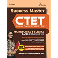 CTET Success Master Maths & Science Paper-2 for Class 6 to 8 2020