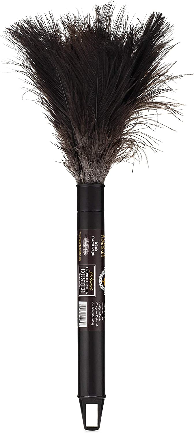Retractable Ostrich Feather Duster 12 to 16 inch