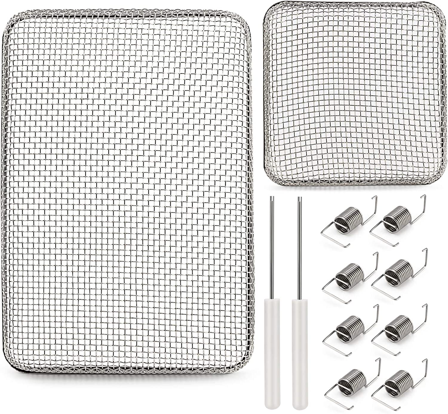 """HQRP 4.5/"""" x 4.5/"""" RV Furnace Water Heater Battery Vent Cover Flying Bug Screen"""