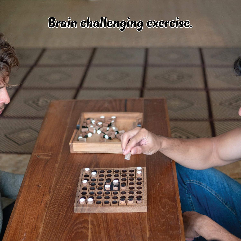 Juego de mesa clásico Othello Estrategia Juegos de la Familia Juegos para Adultos y Niños que Jugar en 2 Juegos de mesa para desafiar a los Mastermind piezas de juego que viene
