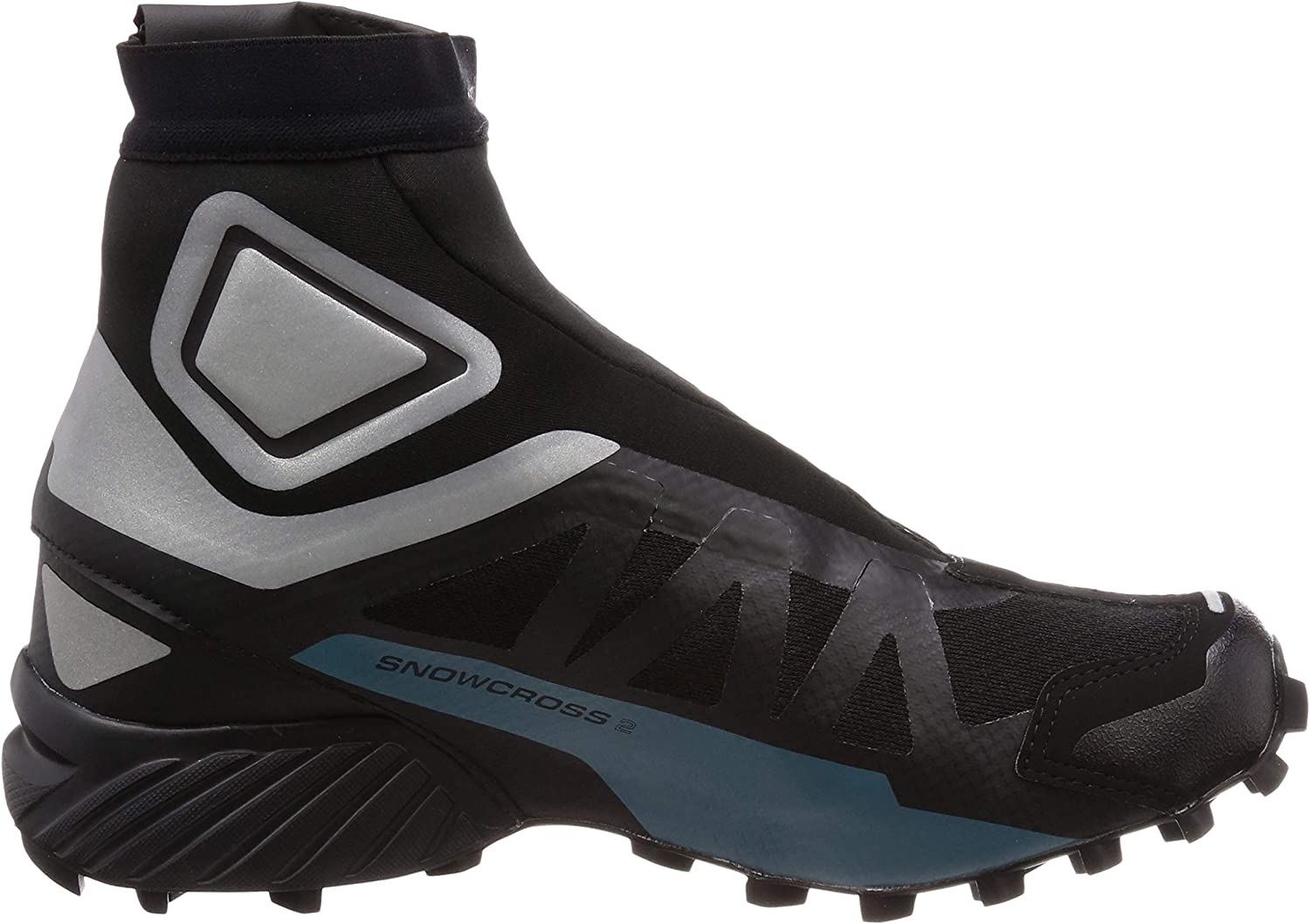 salomon men's snowcross 2 cswp trail running shoes vs