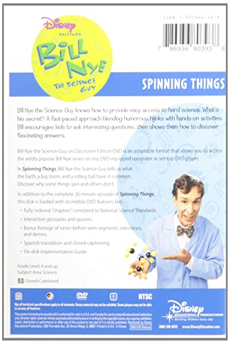 Spinning Things [Alemania] [DVD]: Amazon.es: Cine y Series TV