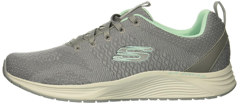 Skechers Women's Skyline Sneaker B078TFRNGX 11 B(M) US|Grey Mint