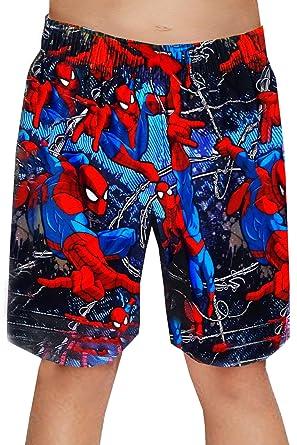 5718bb19cb16a2 Spiderman Kids Marvel Swim Shorts - Spiderman -Age 2-3 Yeras  Amazon.co.uk   Clothing