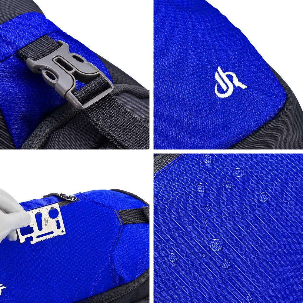Y&R Direct Sling Bag Sling Backpack,Shoulder Chest Crossbody Bag Purse Nylon Lightweight MulticolorSmall Daypack Outdoor Hiking Camping Travel Women Men Boy Girls Kids Gifts (Dark Blue)