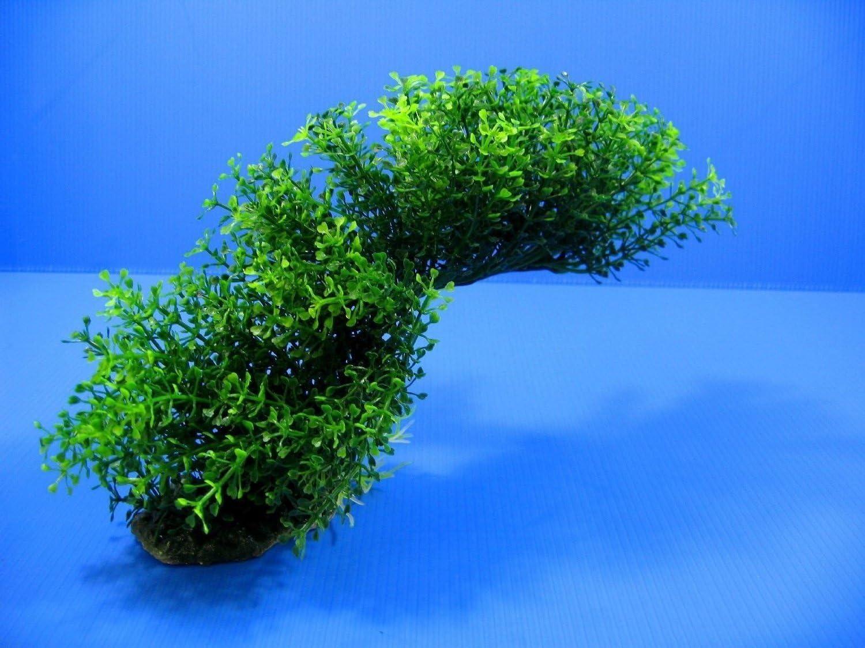 Aquarium Ornament Plastic Plants 21020 Shapeable Decoration Green