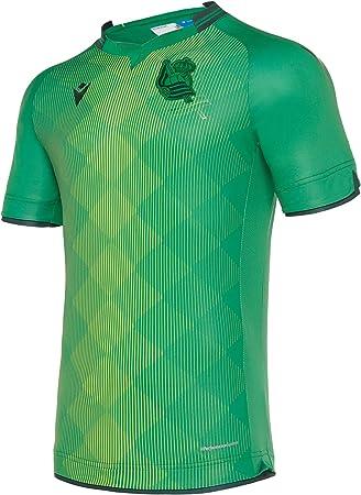 Macron Real Sociedad Segunda Equipación 2019-2020, Camiseta, Green ...