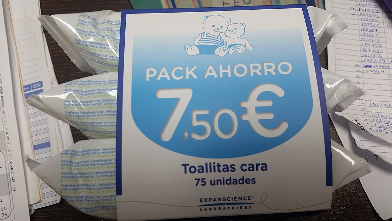 MUSTELA Toallitas humedas para la cara. Trio 3X25: Amazon.es: Salud y cuidado personal