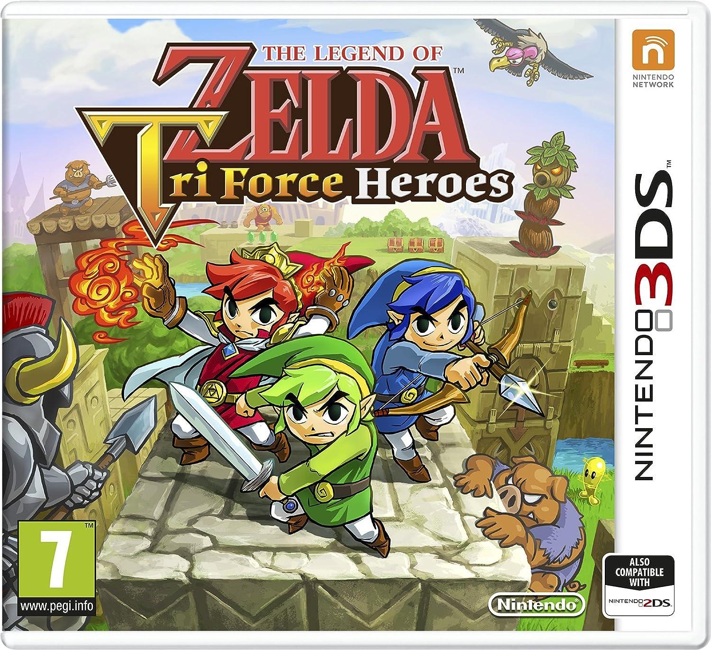 The Legend of Zelda Tri Force Heroes: Amazon.es: Videojuegos