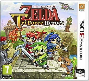 The Legend Of Zelda Tri Force Heroes (Nintendo 3DS): Amazon
