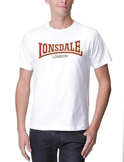 Lonsdale London Classic - Camiseta de Manga Corta para Hombre ...