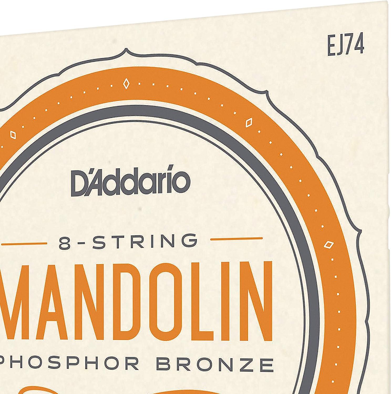 Set of 8 Pieces Picato 96585 Phosphor Bronze 1140 Loop End Mandolin Strings